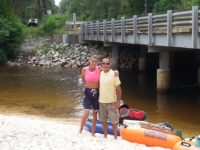Camping and Kayaking